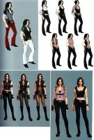 Helena RE6 Extra Costumes 3 by Sparrow-Leon
