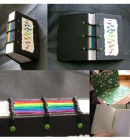 Rainbow Butterfly Book by myceliae