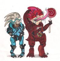 Wrex likes CANDY by GlueBandit
