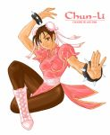 Chun-li Recolor: Peach by chloebs