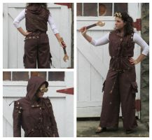 Susie the Tinkerer: Coveralls by grg-costuming
