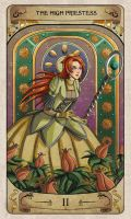 Cerebium Tarot 2 - The High Priestess by Hedrick-CS