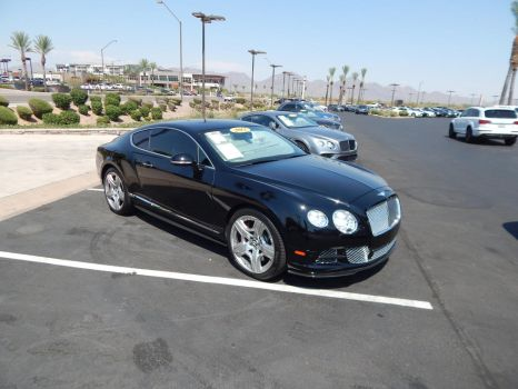 2012 Bentley Continental GT by TheHunteroftheUndead
