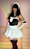 Adorable Cosplay Maid by Torinoko