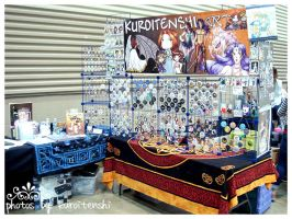 Shutocon 2014 AA Booth by kuroitenshi13
