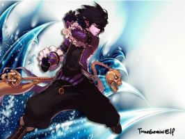 Dungeon Fighter Online - Male Mage by TooneGeminiElf