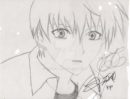 Kyo - Jerry Jewell autograph by vegalume