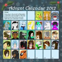 Advent Calendar by Bluefirewings