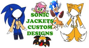 Sonic Jacket Custom Design Banner by chi171812
