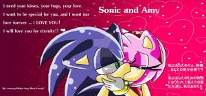 SonAmy .w. by sonamy94fan