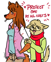protect the bae by Aymeysa