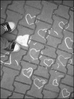 street-hearts I by KissmeInPunk