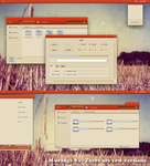 M-orange Vs For win7 by Cleodesktop