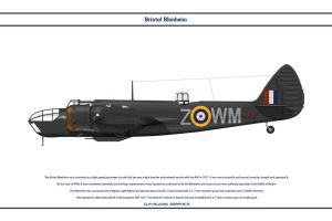 Blenheim GB 68Sqn by WS-Clave