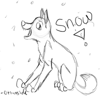 Snow in Africa by otherside-of-someday