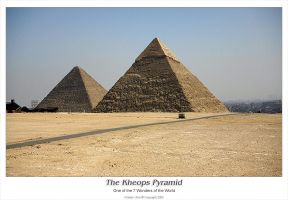 7 Wonders: The Kheops Pyramid by uhre