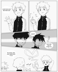 Teru loves his friends by Florbe