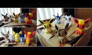 Beady Eyed Pokemon set 2 by xBrittneyJane