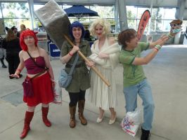 Supanova 2012 - Assorted (SCOTT PILGRIM!) by nkbswe5