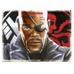 Copic Nick Fury on a 228. by danomano65