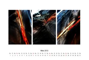 abstract 2012 - calendar 03 by 2-03