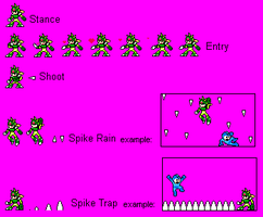 Dino Woman FINAL SPRITES by Unknowni123