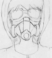 Gas mask by YumeNikky