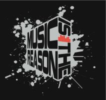 logo pour music is the reason by Mr-Kdoc