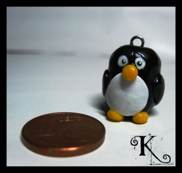 Fimo Penguin by Anubis2113