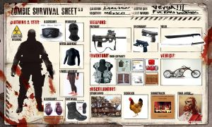 Meme - Zombie Survival Sheet by baratsu