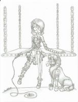Lea the Lion Tamer 1 by UnderCoverCottonswab