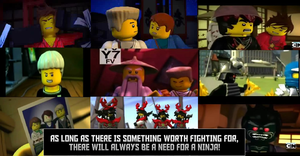 Ninjago Wallpaper by TombRaiderNinja