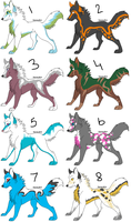 Wolf Adoptables 9 CLOSED by BlueFox-Adopt-Agency