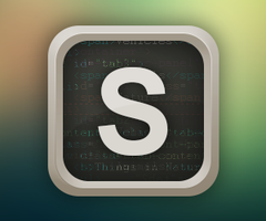 Sublime Text Icon Design by MartinBerthelsen