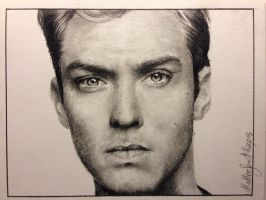 Jude Law by X-TeO-X