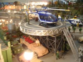 Eurocopter  helicopters by Krulos