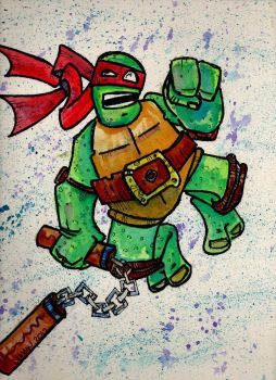 turtle power by duncanclay