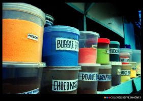 COLORED REFRESHMENTS by AdREPUBLIKA