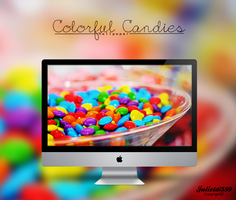 Colorful Candies Wallpaper By Julieta7599 by Julieta7599