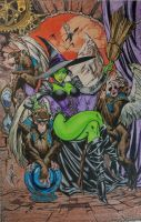 Wicked Witch colored by SSGJoey