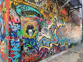 Graffiti Warehouse 14 by TemariAtaje