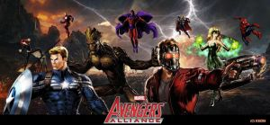 Marvel Avengers Alliance by icequeen654123