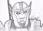 TFP Ratchet Sketch by LilyOfTheSword