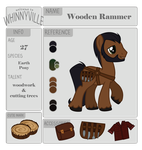 Wooden Rammer by ErisGrim