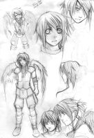 More Nanyel sketches 8D by Shinigami-chan02