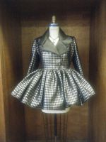 Silver Houndstooth by Love-Joker
