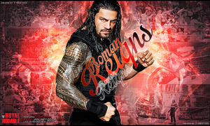 Royal Rumble 2015 Ft. Roman Reigns by T1beeties
