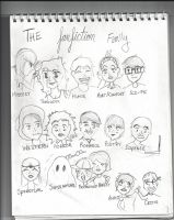 The Fanfiction Family by animewatcherfreakmal