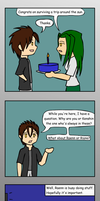 Outcast's birthday comic by Warlock0103