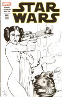 Star Wars No. 1 - Sketch Cover by DocRedfield